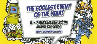 Countdown to Singapore Toy Game & Comic Convention (STGCC) 2014