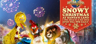 Universal Studios Snowy Christmas Event Early Bird Special