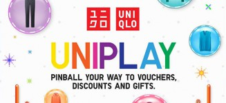 Play UNIQLO's UNIPLAY Pinball game and win vouchers, discounts & gifts