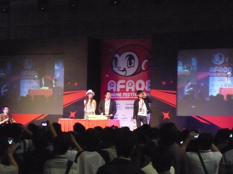 Anime Festival Asia 2008 Report: Day Two