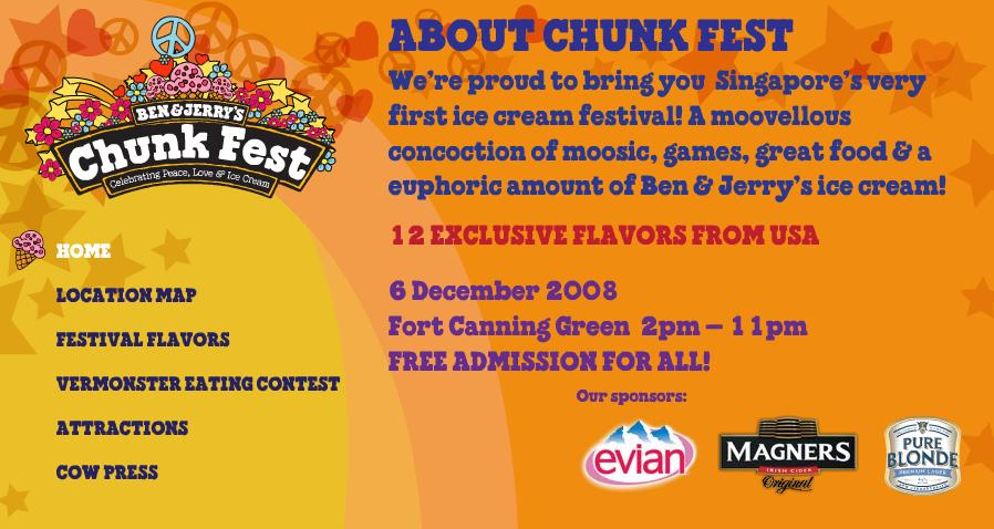 Ben & Jerry's Chunk Festival @ Fort Canning Green